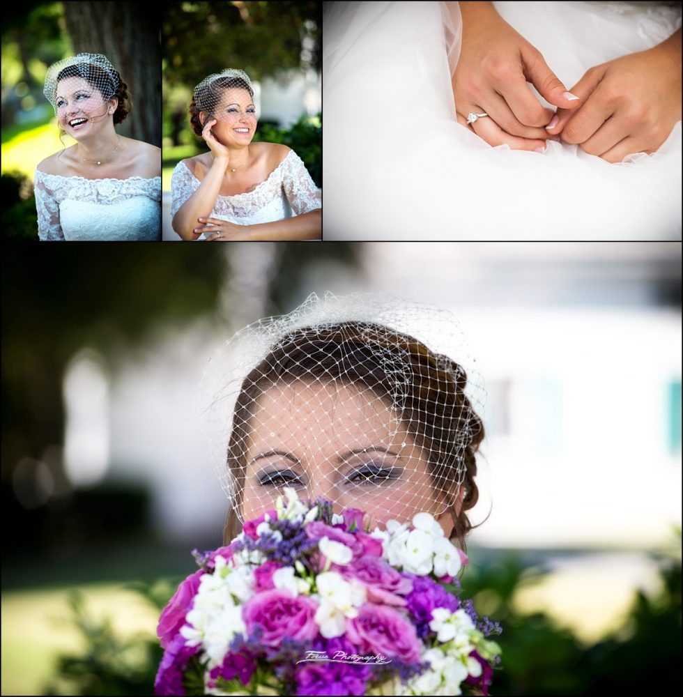 bride  at Dunegrass Golf Club Wedding in Old Orchard Beach, Maine
