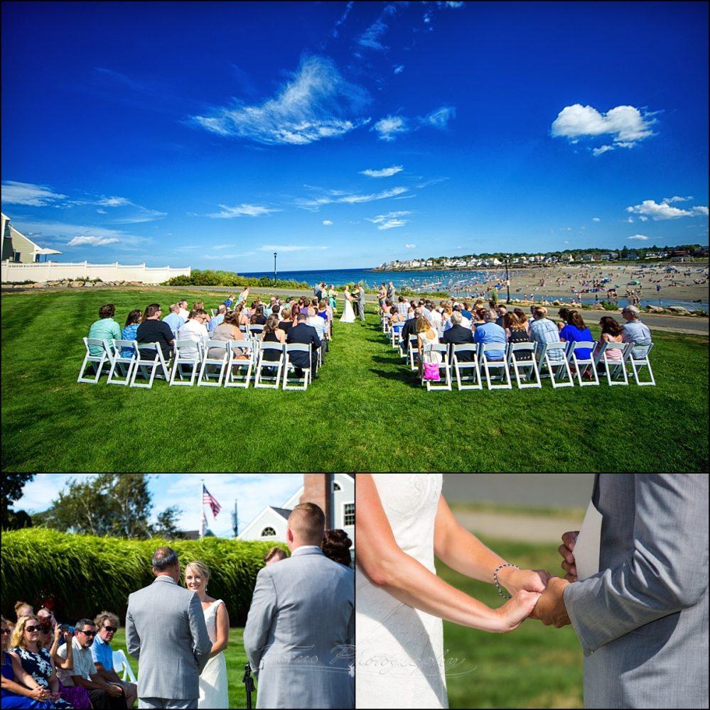 wedding ceremony york Union Bluff Meeting House