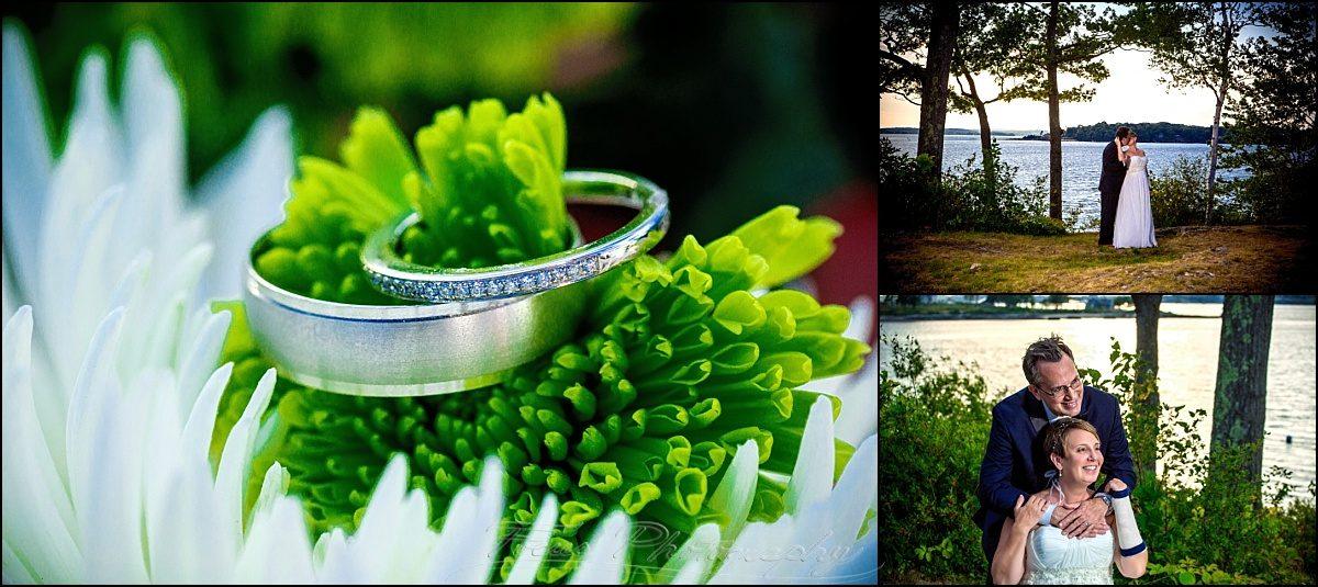 portland, maine | Peaks Island wedding rings