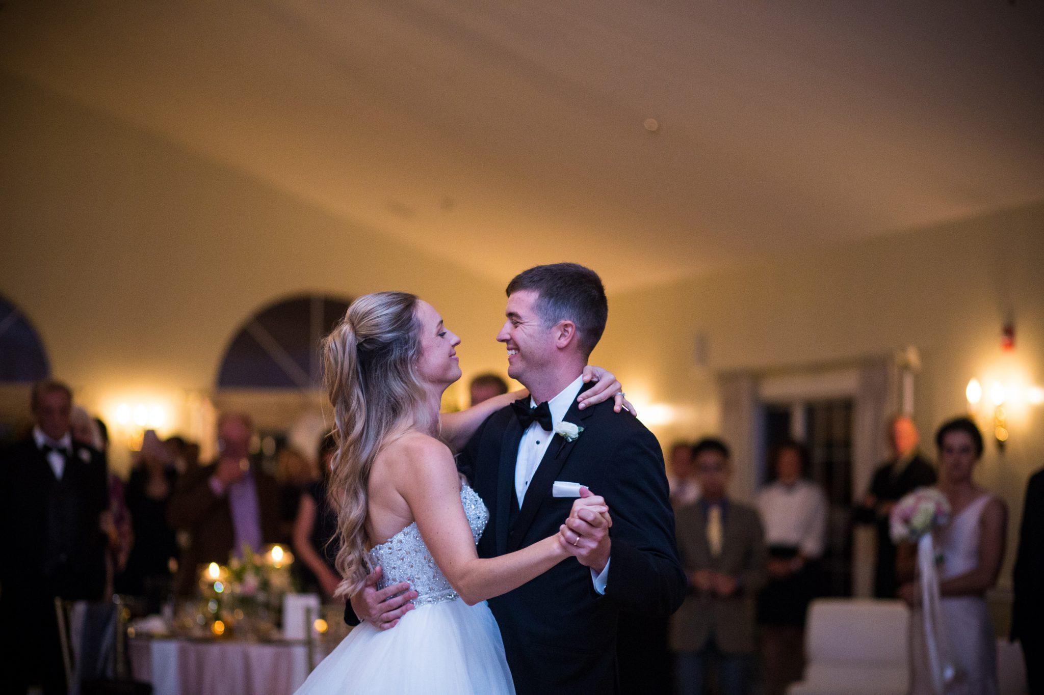 Dunegrass wedding photographers - first dance