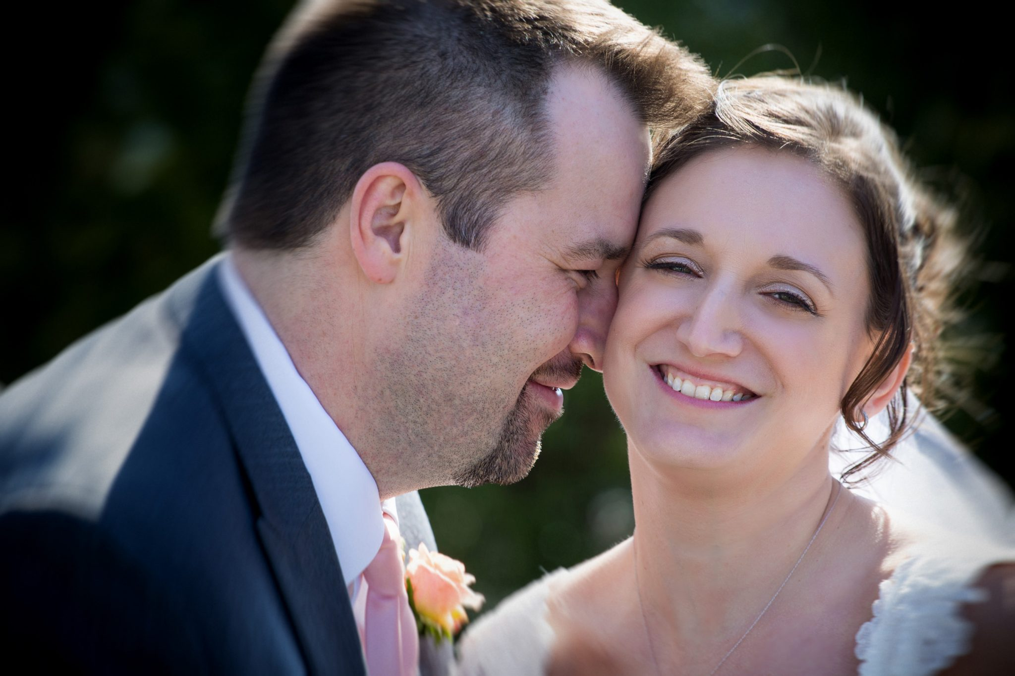 Samoset wedding photo of Bride and groom.