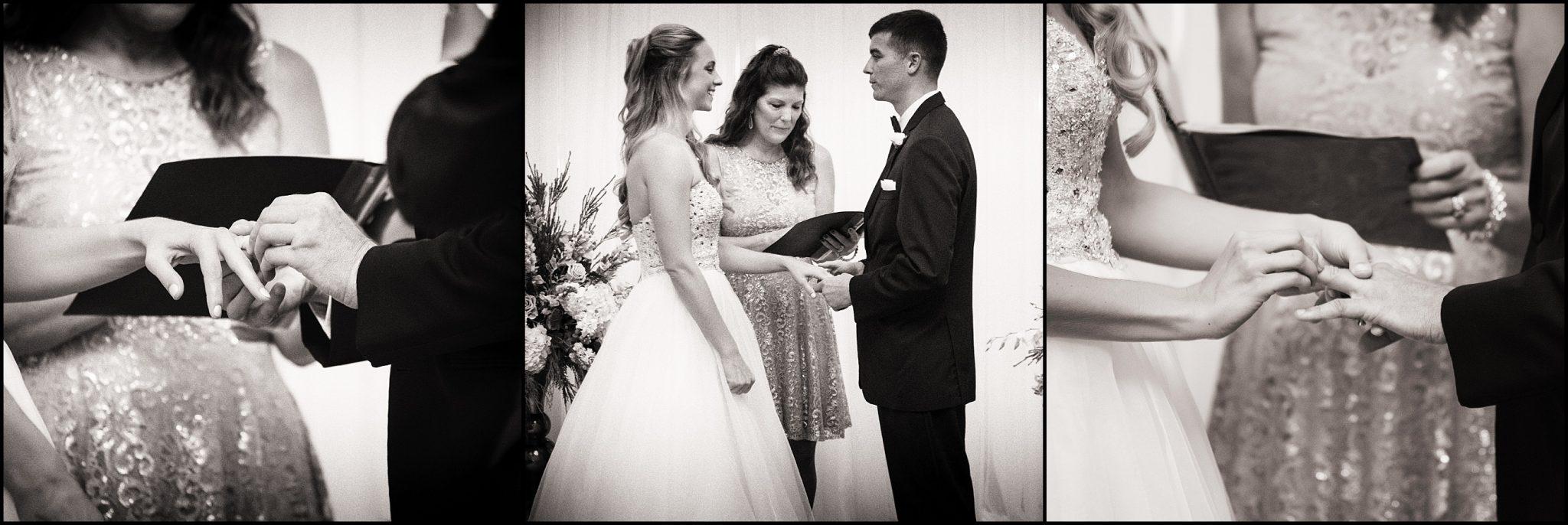 wedding ceremony dunegrass golf club