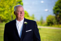Wesley the groom at Casco Bay