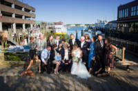 Wedding photos taken at Rira in Portland, Maine