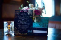 Wedding invitations for Suzan and Wesley's Maine destination wedding!