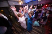 Bride and her mother on dance floor.
