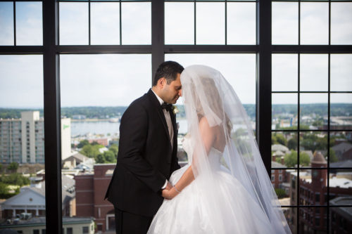 Ashly and Misagh's Wedding at the Westin Portland