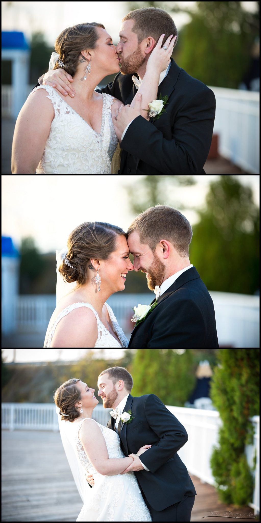 couple's pictures at Wentworth wedding