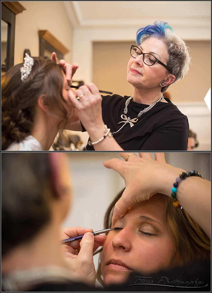 Joya Beauty preps bride