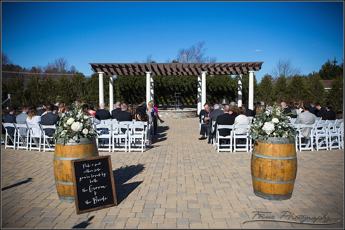Birch Wood Vineyards Ceremony