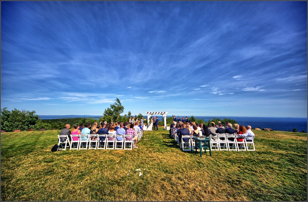 ceremony picture at point lookout