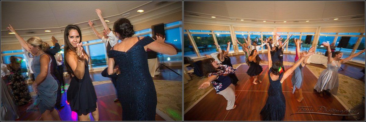 dancefloor pictures at maine wedding in northport