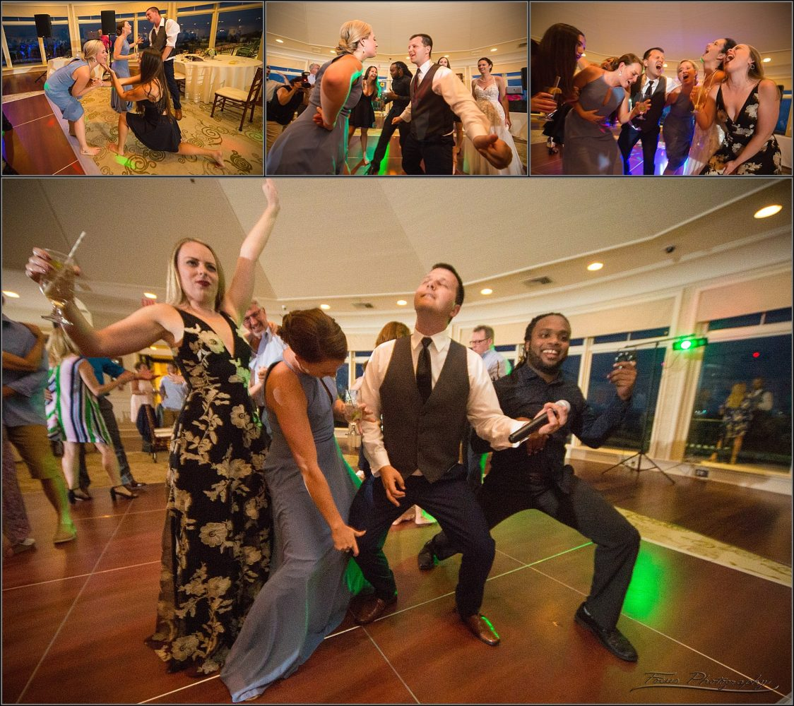 air guitar at point lookout wedding