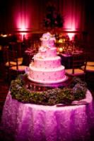 Samoset Resort Wedding pictures - cake in ballroom