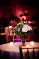 Samoset Resort Wedding pictures - flowers on table