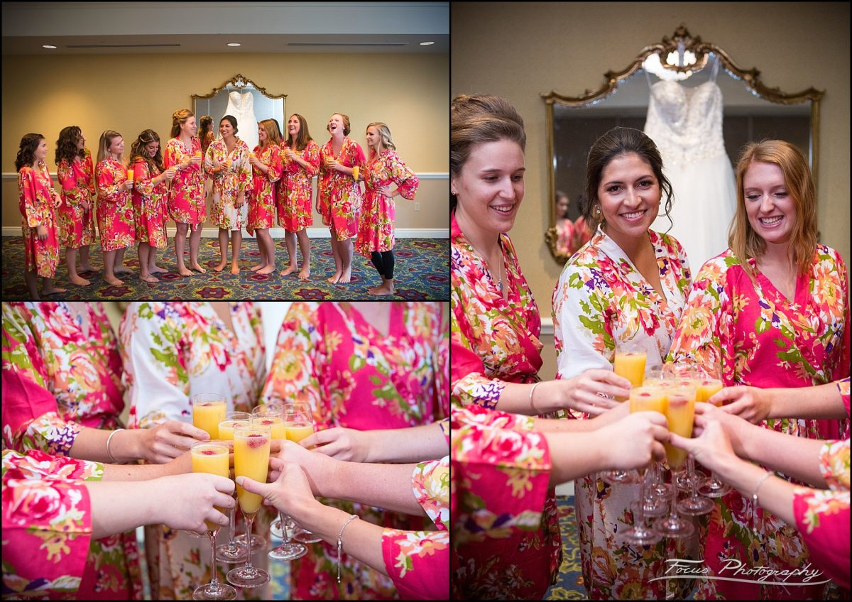 Sam & Steve's Wentworth Wedding - Mimosa toast