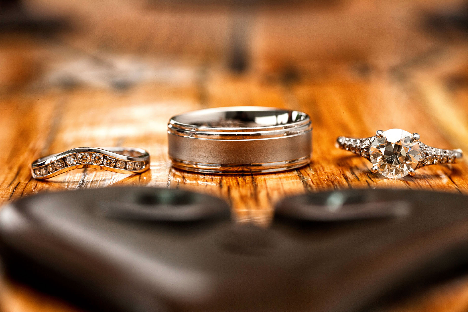 Favorite Wedding Pictures from Wentworth - wedding rings