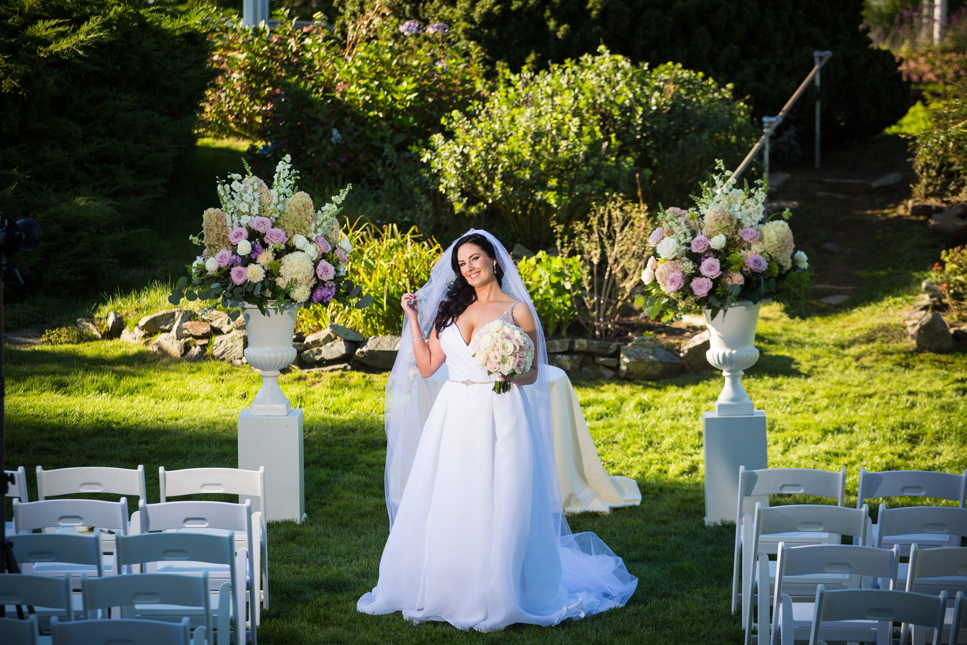 Favorite Wedding Pictures from Wentworth bride before ceremony