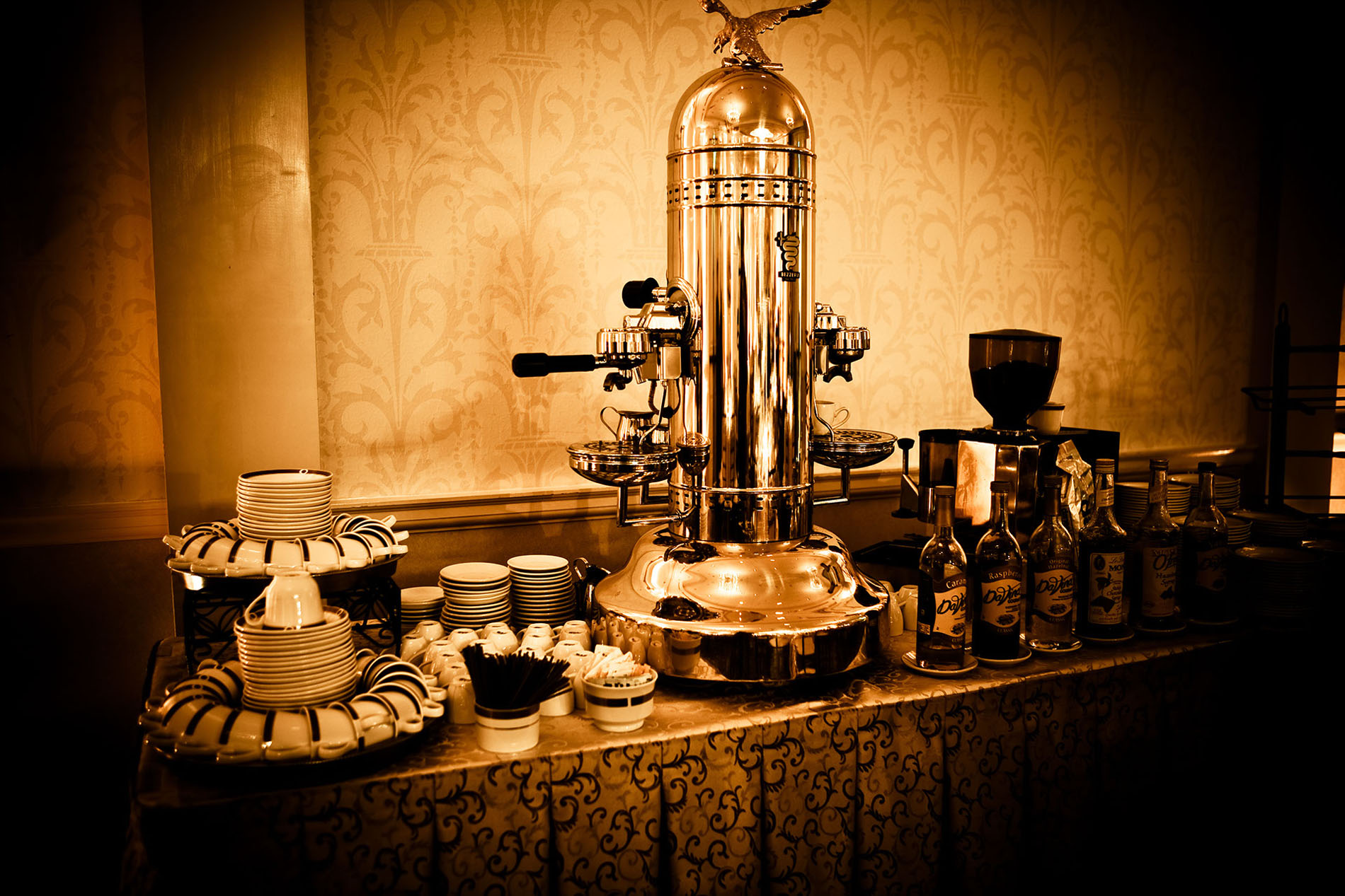 Favorite Wedding Pictures from Wentworth coffee station