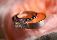 Favorite Wedding Pictures from Wentworth wedding rings on flowers