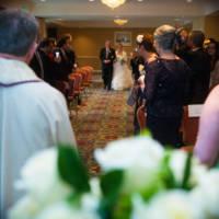 Garden ballroom ceremony