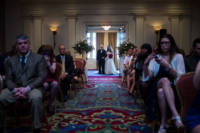 Ceremony in Wentworth ballroom