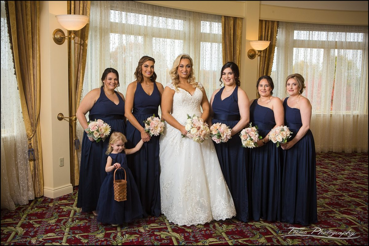 Bridesmaids  from Wentworth by the Sea Wedding