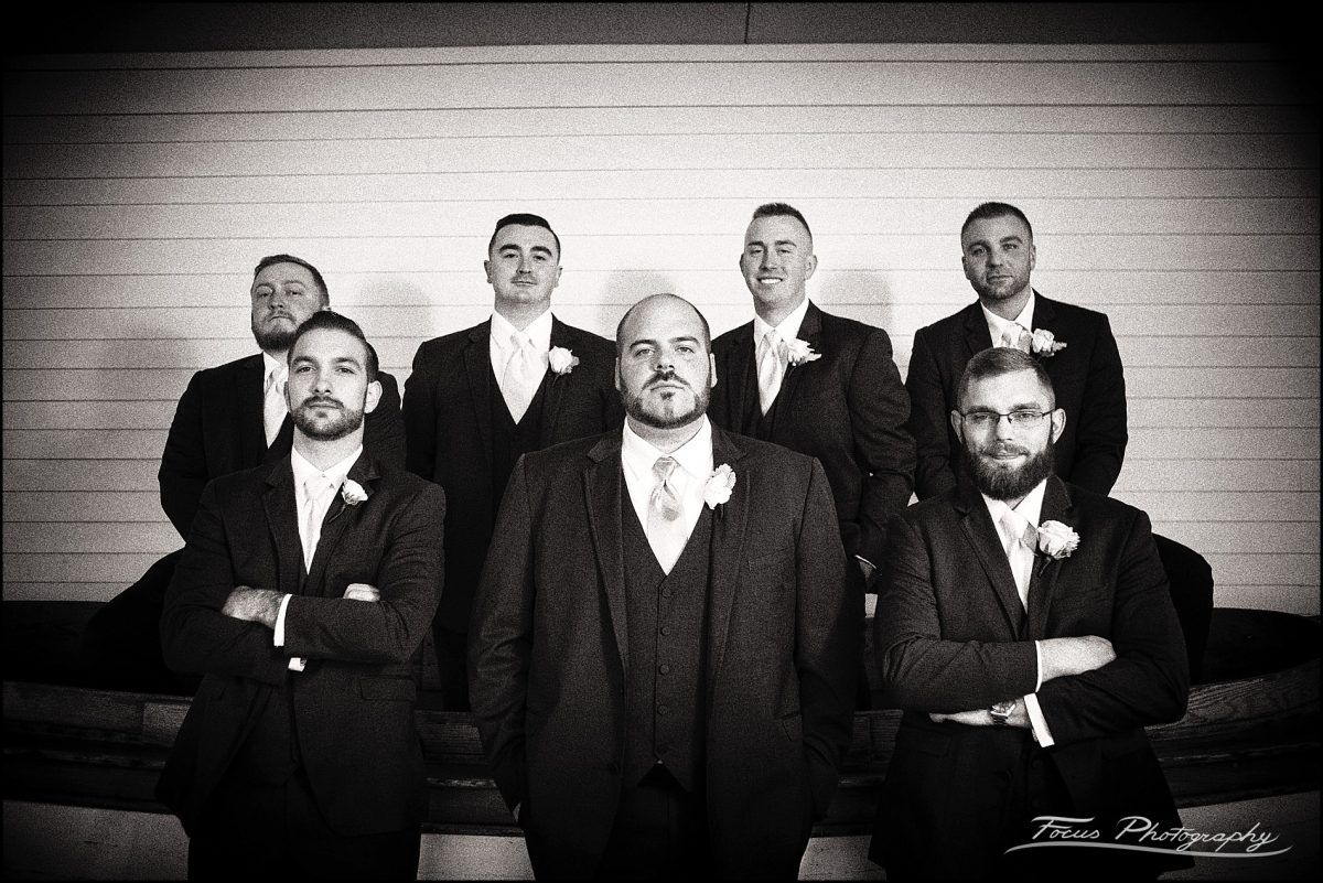 groomsmen at the truth   photographed by Wentworth by the Sea Wedding Photographers