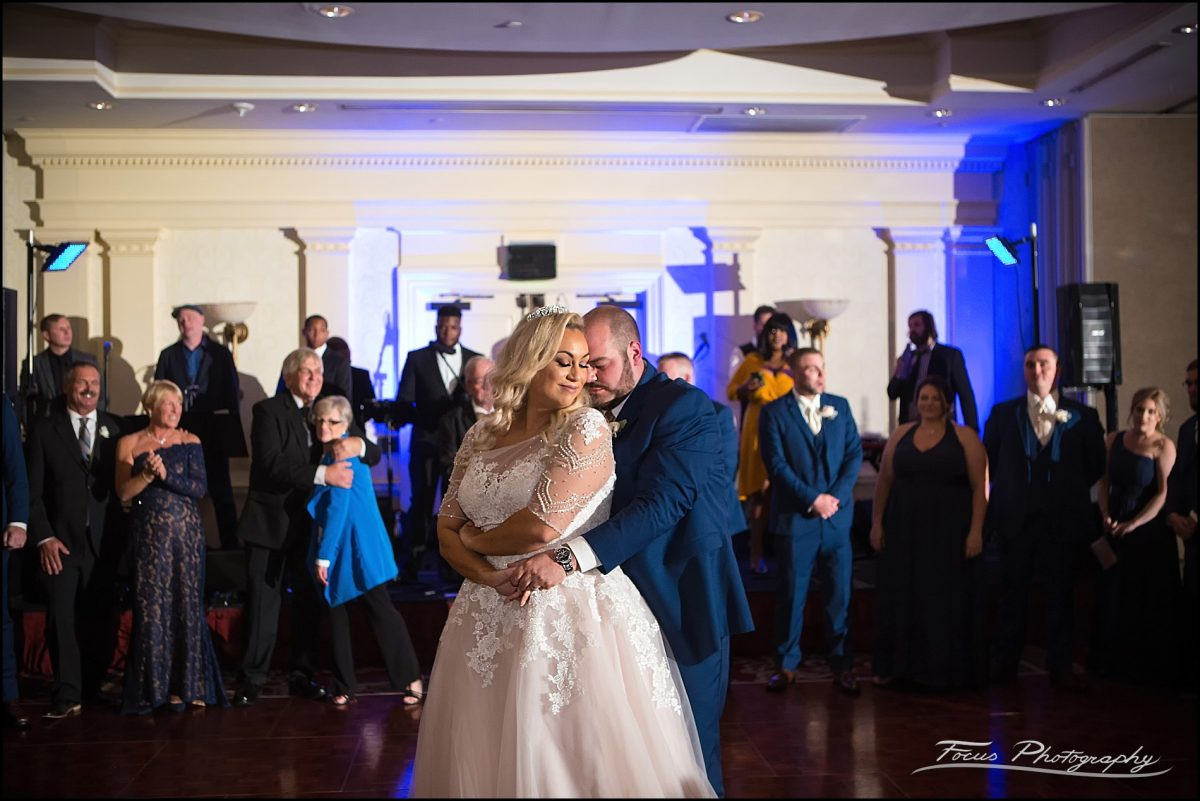 First dance of the night at  Wentworth by the Sea Wedding in New Castle, NH