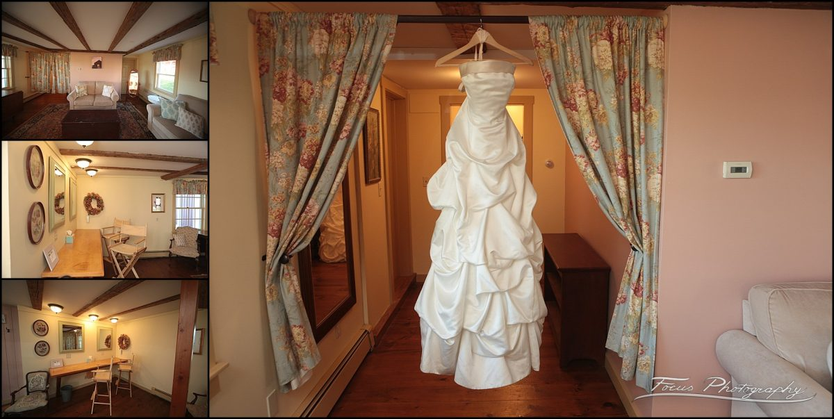 Bride's Getting Ready Room at William Allen Farm