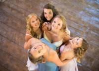 012 Riverwinds farm wedding - Bridesmaids!