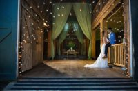 023 Riverwinds farm wedding - Draping by Maine Event Design and Decor