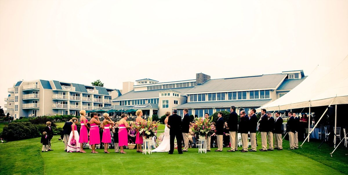 wedding ceremony  at samoset