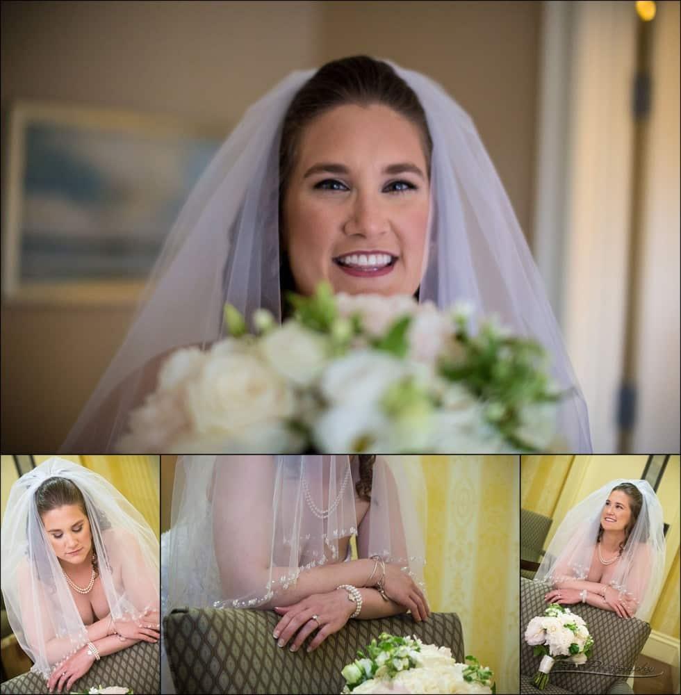 bride in lobby of wentworth hotel