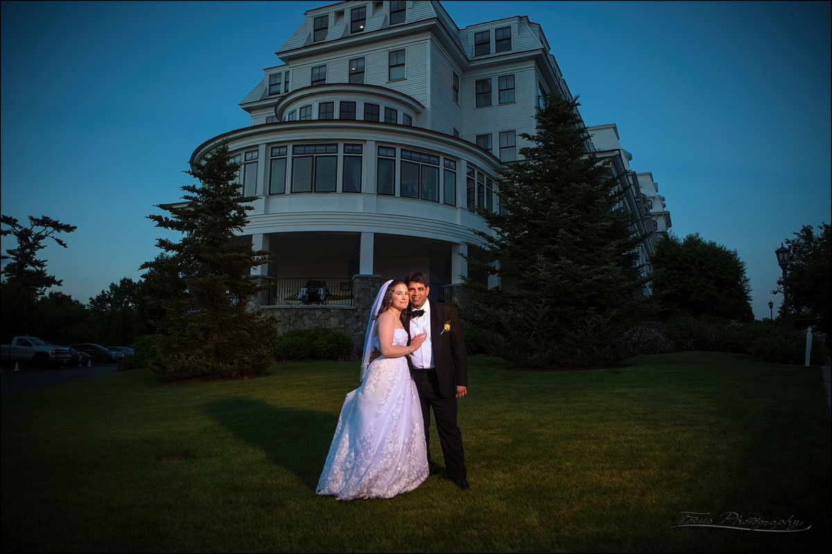 In front of the Wentworth by the Sea