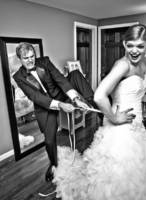 The bride's brother was her Man-of-Honor
