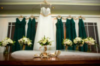 150 wedding dress and shoes