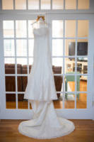 161 wedding dress and shoes