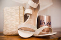 163 wedding dress and shoes