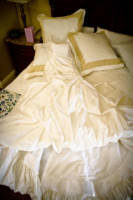 166 wedding dress and shoes