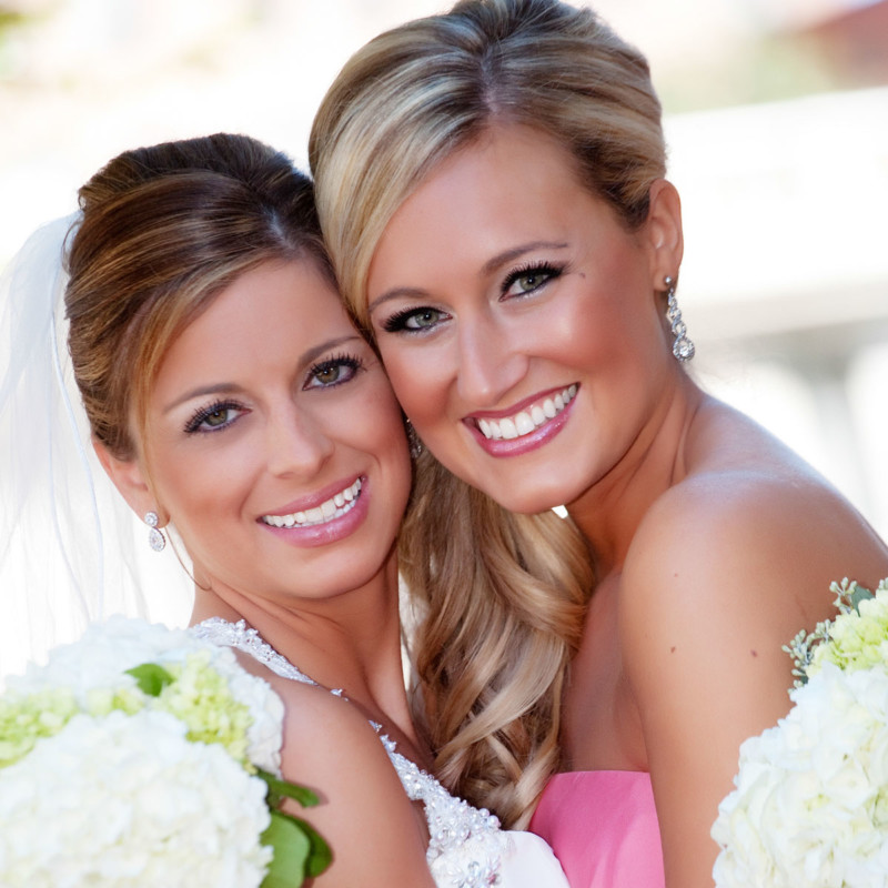 Of course we'll take portraits of each bridesmaid with you.