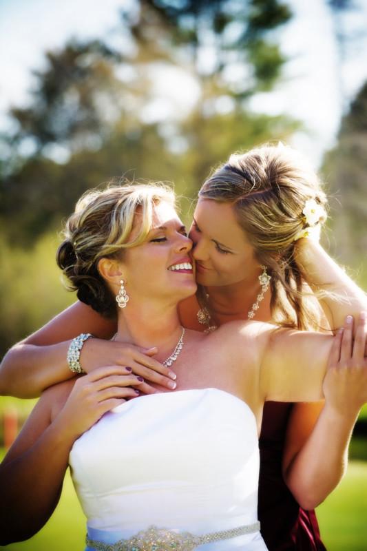formal portraits of wedding couple