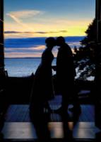 539 wedding couple portraits twilight