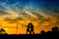 543 wedding couple portraits twilight