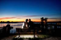 544 wedding couple portraits twilight