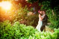545 wedding couple portraits twilight