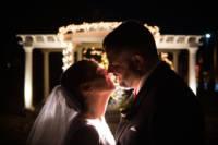 554 wedding couple end night