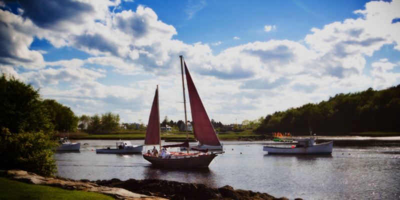 The Pineapple Ketch | Kennebunkport, ME