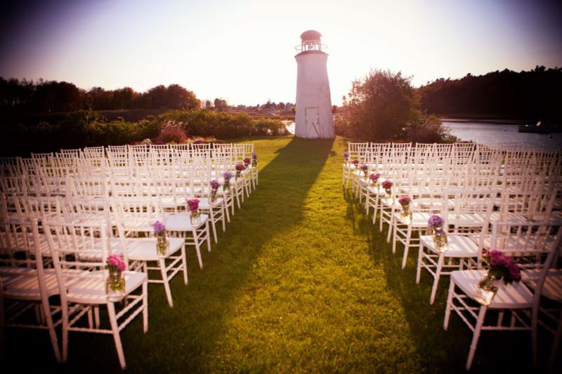 Lighthouse at Nonantum Ceremony