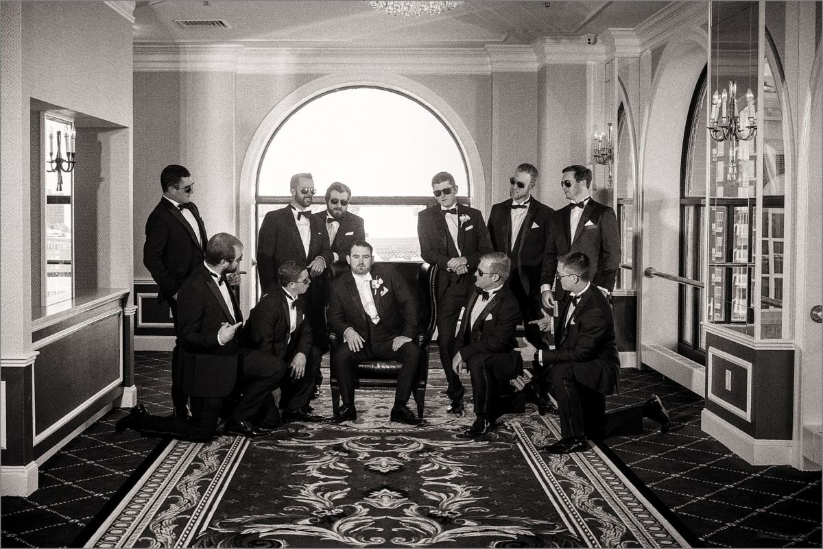 Providence Biltmore Graduate Hotel Wedding Photography CS111